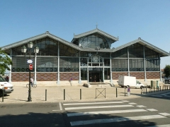 Halle - English: market hall of Angoulême, SW France