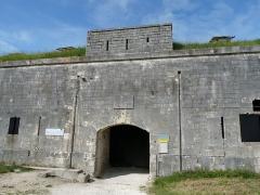 Fort Liédot - English: Entrance of Fort Liédot (Ile d'Aix)