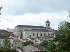 Eglise Saint-Vivien -  Eglise Saint-Vivien de Saintes, Saintes, Poitou-Charentes, France