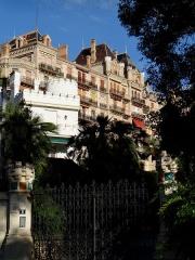 Parc Vallembrosa et ancien hôtel du Parc - Français:   Cannes - Parc Vallombrosa et villa du Parc