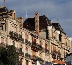 Parc Vallembrosa et ancien hôtel du Parc - Français:   Cannes - Parc Vallombrosa