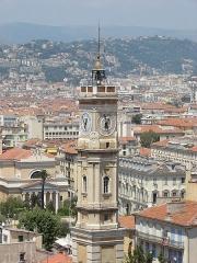 Ancien couvent Saint-François -  La tour Saint-François à Nice, Nice, Provence-Alpes-Côte d'Azur, France