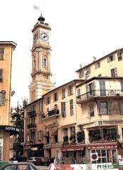 Ancien couvent Saint-François -  Nice-Vieille ville   La rue de la Tour vue du boulevard Jean-Jaurès