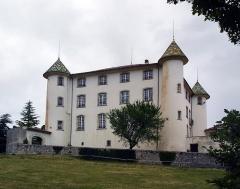 Château - Français:   Château d\'Aiguines communs, jardin, tour