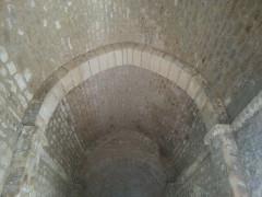 Chapelle Saint-Estève - English: Rians Chapel Saint Esteve - Inside view toward the apse