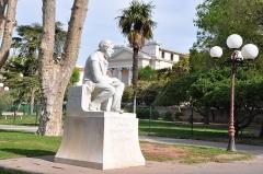 Hôpital Chalucet et jardin public Alexandre Ier -  François Fabié (1846 - 1928), Toulon, Provence-Alpes-Côte d'Azur, France