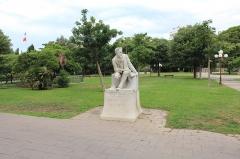 Hôpital Chalucet et jardin public Alexandre Ier - Français:   Statue François Fabié, jardin Alexandre Ier, Toulon.