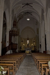 Ancienne abbaye Saint-Jean - English:   Nave.