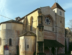 Ancienne abbaye Saint-Jean -  Abbaye Saint Jean de Sorde-l'Abbaye, dans les Landes, en France. Photo prise par Jibi44 en janvier 2007.