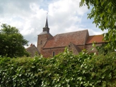 Eglise Saint-Cyr -  Vesdun kyrka