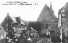 Eglise paroissiale Saint-Pierre - église et bâtiments Parçay-Meslay
