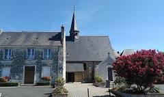 Eglise paroissiale Saint-Pierre - Français:   Place de l\'église, à Parçay-Meslay.