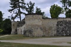 Château de Saint-Dizier -  Château de Saint Dizier: enceinte et tours. Inscription aux monuments historiques en 1994.