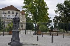 Château de Saint-Dizier -  Château de Saint Dizier: rue Philippe-Lebon, fontaine Wallace.