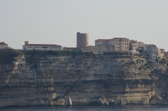 Escalier du roi d'Aragon -   Bonifacio (Corse-du-Sud, France)  (A la date de l\'import depuis Flickr par Marc ROUSSEL, l\'auteur avait légendé sa photo ainsi: \