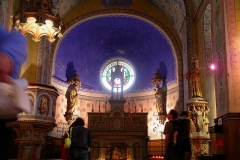 Eglise Sainte-Marie-Madeleine - Deutsch: Altar der Kirche in Rennes le Chateau