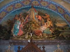 Eglise Sainte-Marie-Madeleine -  Der Berg der Seligpreisung in der Kirche von Rennes-le-Château