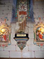 Eglise Sainte-Marie-Madeleine - Deutsch: Figur in der Kirche von Rennes-le-Chateau