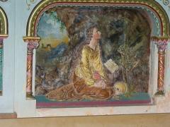 Eglise Sainte-Marie-Madeleine - Deutsch: Relief am Altar der Kirche in Rennes-le-Chateau