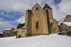 Eglise Saint-Sulpice -  Saint-Sulpice-le-Dunois (Creuse, France), église paroissiale Saint Sulpice.