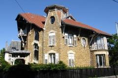 Maison dite Villa Marguerite -  Villa Marguerite (1903-1904), parc de Saurupt, Nancy, par Henri Gutton et Joseph Hornecker