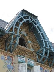 Maison -  Maison de Lotissement 24 et 26 rue Felix, 1904  24 et 26, rue Félix  54000 Nancy  Architecte: César Pain   Map: 48° 40' 41