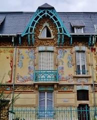 Maison - Deutsch: Félix-Faure-Straße, Nancy, Département Meurthe und Mosel, Region Lothringen (heute Großer Osten), Frankreich