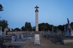 Croix hosannière du cimetière - Français:   La croix hosannière de La Jonchère depuis le cimetière.