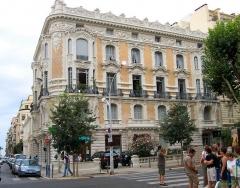 Palais Meyerbeer -  Nice - Quartier des Musiciens - Palais de Nice  Palais Meyerbeer. Nice quartiers des Musiciens   Bd Victor-Hugo
