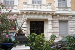 Palais Meyerbeer -  Nice - Quartier des Musiciens - Palais de Nice  Palais Meyerbeer. Nice quartiers des Musiciens   Entrée Bd Victor-Hugo