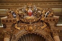 Palais de la Préfecture, ancien palais des rois de Sardaigne - English: detail from Palais des ducs de Savoie, Nice, France