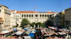 Palais de la Préfecture, ancien palais des rois de Sardaigne -  Nice-Place Gauthier - Palais de la Préfecture