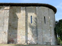 Eglise Saint-Pierre - Français:   Laussou - Eglise Saint-Pierre - Chevet