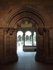 Chapelle de Reugny - English: Doorway of Notre-Dame, Reugny, at The Cloisters Museum New York