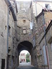 Enceinte médiévale - Français:   Centre ville de Billom
