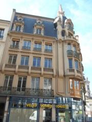Immeuble -  photo auteur sur st etienne  Licensing fr:Catégorie:Image de Saint-Étienne