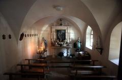 Chapelle Saint-Roch -  Intérieur de la Chapelle d'Urtière.