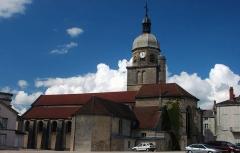 Eglise -  Eglise de Saint-Amour (Jura)
