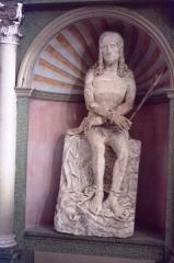 Eglise - English:   Église Saint-Amateur-et-Saint-Viateur de Saint-Amour, statue Christ aux liens. Photo taken in 1983
