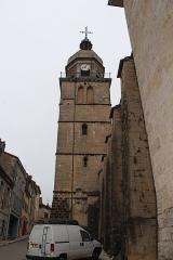 Eglise - Français:   Église Saint-Amateur-et-Saint-Viateur de Saint-Amour, Jura.