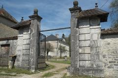 Château - Deutsch: Schloss in Boulot im Département Haute-Saône (Bourgogne-Franche-Comté/Frankreich)