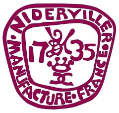 Faïencerie - English:   Logo of Niderviller pottery