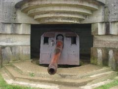 Batterie d'artillerie de Longues -  Bunker de artilharia alemão WWII