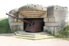Batterie d'artillerie de Longues - English:   Bunker in Longues-sur-Mer, Normandy, France.