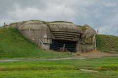 Batterie d'artillerie de Longues - English:   German bunker at Batterie de Longues-sur-Mer, Calvados, Normandy, France
