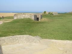 Batterie d'artillerie de Longues -  batterie de Longues sur Mer (Calvados)