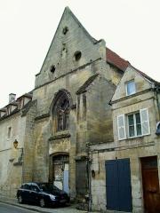 Couvent des Carmes - Français:   L\'ancienne chapelle du couvent des Carmes, vue depuis la porte de Paris.