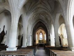 Eglise de l'Annonciation Notre-Dame - Français:   Dammarie-sur-Saulx (Meuse) église, nef