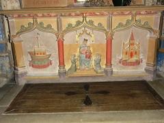 Eglise de l'Annonciation Notre-Dame - Français:   Dammarie-sur-Saulx (Meuse) église, relief dessous d\'autel