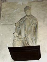 Eglise de l'Annonciation Notre-Dame - Français:   Dammarie-sur-Saulx (Meuse) église, statue St. Nicolas
